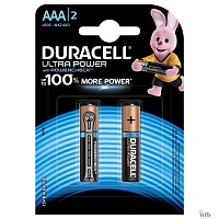 DURACELL LR03-2BL Ultra Power (2 шт. в уп-ке)