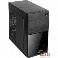 "Miditower Aerocool ""Cs-105 Black "", mATX, черный w/o PSU [152533]"