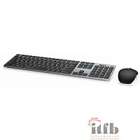 DELL  Premier-KM717 [580-AFQF] Wireless Keyboard + Mouse, black silver