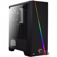 MidiTower Aerocool Cylon Black без Б/П  ATX, (PGS-V) [968842]