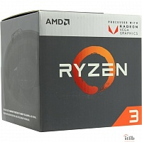 CPU AMD Ryzen Ryzen 3 2200G BOX {3.5-3.7GHz, 4MB, 65W, AM4, RX Vega Graphics}