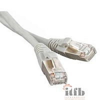 Hyperline PC-LPM-STP-RJ45-RJ45-C6a-3M-LSZH-GY Патч-корд FTP, Cat.6a, LSZH, 3 м, серый