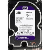 "3TB WD Purple (WD30PURZ) {Serial ATA III, 5400- rpm, 64Mb, 3.5""}"