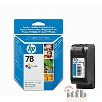 HP C6578D Картридж №78, Color {DJ 930C/950C/959C/970Cxi/1220/6122/6127/PSC 750/1180c, Color (19ml)}