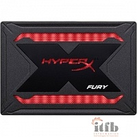 Kingston SSD 240GB HyperX Fury RGB SHFR200/240G {SATA3.0}