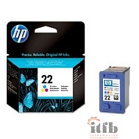 HP C9352AE Картридж №22, Color {PSC1410, DJ 3920/3940, Color (5ml)}