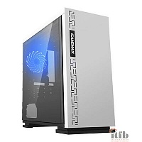 GameMax [H605 EXPEDITION WHT] без БП (Midi Tower, ATX, White)