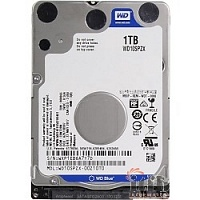 1TB WD Blue (WD10SPZX) {SATA 6Gb/s, 5400 rpm, 128Mb buffer}