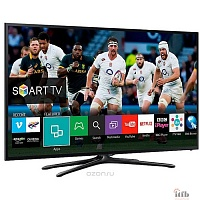 "Samsung 43"" UE43J5202AUXRU черный {FULL HD/100Hz/DVB-T2/DVB-C/DVB-S2/USB/WiFi/Smart TV (RUS)}"