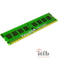 Kingston DDR3 8GB (PC3-12800) 1600MHz [KVR16R11D4/8] ECC Reg CL11 DRx4