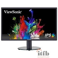 "LCD ViewSonic 23.8"" VA2419SH черный {IPS, LED, 1920x1080, 5 ms, 178°/178°, 250 cd/m, 50M:1, D-Sub, HDMI}"
