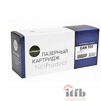 NetProduct Cartridge 703 Картридж для LBP2900/3000/HP LaserJet 1010/1020/1022/M1005 (2000 стр.)