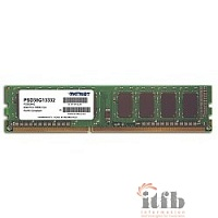 Patriot DDR3 DIMM 8GB (PC3-10600) 1333MHz PSD38G13332