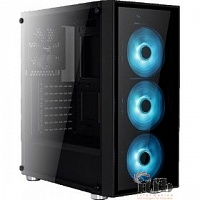 "Midi Tower AeroCool ""Quartz RGB"" ATX 2.03,  без б/п 68958"