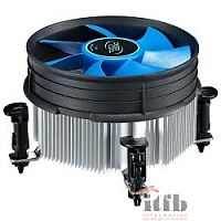 Cooler Deepcool THETA 21 {Soc-1150/1155/1156, 3pin, 30dB, Al, 95W, 370g, push-pin}