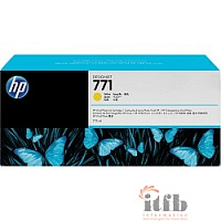 HP B6Y10A Картридж №771, Yellow {Designjet Z6200, Yellow (775ml)}