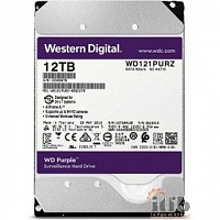 "12TB WD Purple (WD121PURZ) {Serial ATA III, 5400- rpm, 256Mb, 3.5""}"