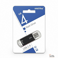 Smartbuy USB Drive 4Gb V-Cut series Black SB4GBVC-K