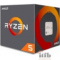 CPU AMD Ryzen Ryzen 5 1400 BOX {3.2/3.4GHz Boost, 10MB, 65W, AM4}