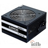 Chieftec 600W RTL [GPS-600A8] {ATX-12V V.2.3 PSU with 12 cm fan, Active PFC, fficiency >80% with power cord 230V only}