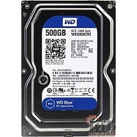 500Gb WD Caviar Blue (WD5000AZRZ) {Serial ATA III, 5400 rpm, 64Mb buffer}