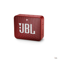 JBL GO 2 красный 3W 1.0 BT/3.5Jack 730mAh (JBLGO2RED)
