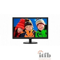 "LCD PHILIPS 21.5"" 223V5LSB2 (10/62) черный {TN, 1920x1080, 5 ms, 90°/65°, 200 cd/m, 10M:1 D-Sub}"