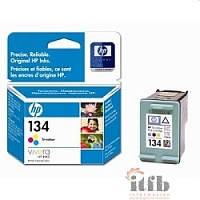 HP C9363HE Картридж №134, Color {DJ 6543/5743/5740/6843, PS 325/375/8153/8453, Color (14ml)}