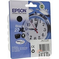 EPSON C13T27114020/4022 Singlepack Black 27XL DURABrite Ultra Ink for WF7110/7610/7620 (cons ink) 1100 стр