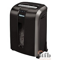 Fellowes Шредер Powershred 73Ci FS-4601101(2) {100% Jam Proof, SafeSense ,4х51 мм, 12 лст., 22 лтр., уничтожает: скобы, карты, скрепки, CD}