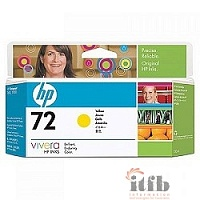 HP C9373A Картридж №72, Yellow {DJ T610/T1100, Yellow (130ml)}