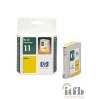 HP C4838AE Картридж №11, yellow {IJ 2200/2250/2230/2280/2600, Yellow (28ml)}