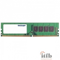 Patriot DDR4 DIMM 4GB PSD44G240082 {PC4-19200, 2400MHz}