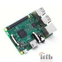 Микрокомпьютер Raspberry Pi 3 Model B 1Gb, WiFi, Bluetooth ОЕМ (41214)
