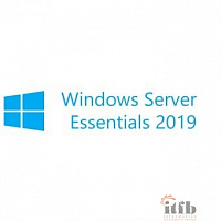 Microsoft Windows Server Essentials 2019 [G3S-01308] Russian 64-bit {1pk DSP OEI DVD} 2CPU