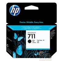 HP CZ133A Картридж №711, Black {Designjet T120/T520, Black (80ml)}