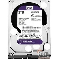 "2TB WD Purple (WD20PURZ) {Serial ATA III, 5400- rpm, 64Mb, 3.5""}"