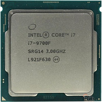 CPU Intel Core i7-9700F Coffee Lake OEM (without graphics)