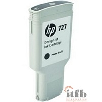 HP F9J79A Картридж №727, Photo Black {DJ T920/T1500/2500/930/1530/2530 (300ml)}