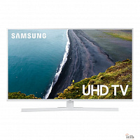 "Samsung 43"" UE43RU7410UXRU 7 белый {Ultra HD/100Hz/DVB-T2/DVB-C/DVB-S2/USB/WiFi/Smart TV (RUS)}"