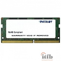 Patriot DDR4 SODIMM 4GB PSD44G240082S {PC4-19200, 2400MHz}