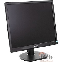 "LCD PHILIPS 19"" 19S4QAB (00/01) черный {IPS LED 1280x1024 5ms 5:4 250cd DVI D-Sub}"
