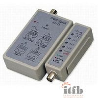 Telecom [6926123456002] LAN тестер ST-45 (LY-CT001) для BNC, RJ-45
