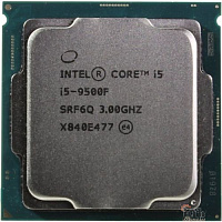 CPU Intel Core i5-9500F Coffee Lake OEM {3.0Ггц, 9МБ, Socket 1151}