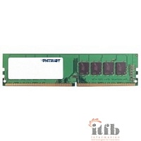 Patriot DDR4 DIMM 4GB PSD44G240041 {PC4-19200, 2400MHz}