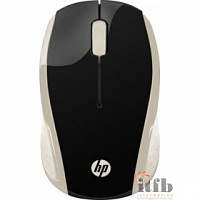 HP 200 [2HU83AA] Wireless Mouse USB silk gold