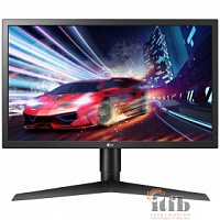 "LCD LG 23.6"" 24GL650-B черный {1920x1080 144Hz 1ms 300cd 1000:1(Mega DCR) HDMIx2 DisplayPort AudioOut vesa}"