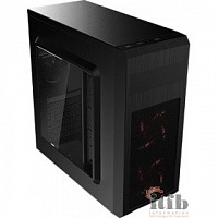 Miditower Aerocool SI-5101 Advance, ATX, черный (без БП)  4713105958799