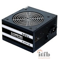 Chieftec 500W RTL [GPS-500A8] {ATX-12V V.2.3 PSU with 12 cm fan, Active PFC, fficiency >80% with power cord 230V only}