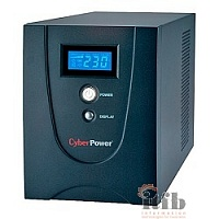 UPS CyberPower V 1500E LCD VALUE1500ELCD 1500VA/900W USB/RS-232/RJ11/45 (4 EURO)